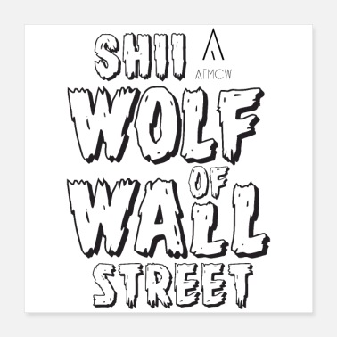 Wolf SHII WOLF - Poster 16x16