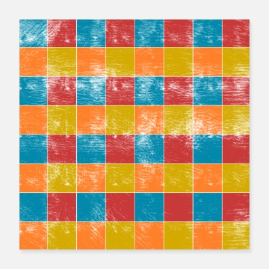 Square squares - Poster