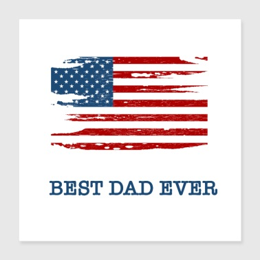 Retirement Best dad ever - Poster 16x16