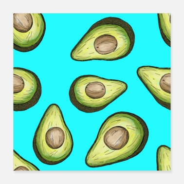 Avocado Love - Poster 16x16