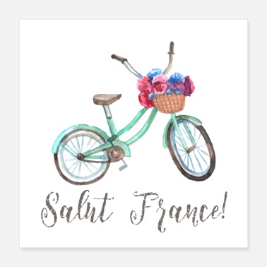 Around SALUT FRANCE - Poster 16x16