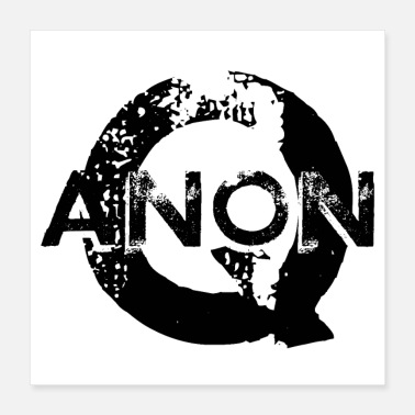 Patriot QANON - Q HERO PATRIOT - Poster 16x16