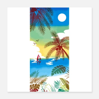 Sea Sea Beaches - Poster 16x16