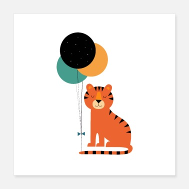New Baby Tiger Baby - Poster 16x16
