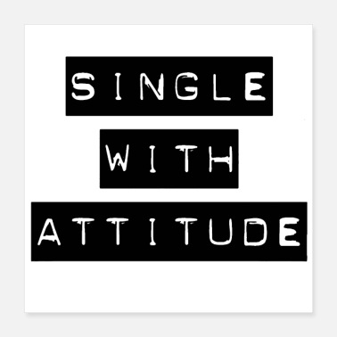 Affection Single but not alone gift idea - Poster 16x16