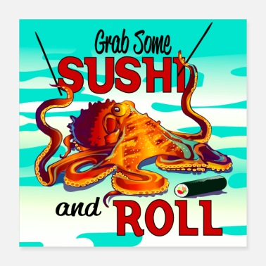Expression SushiRoll - Poster 16x16
