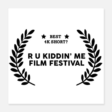 Winner Film Festival Winner : Best 4K Short - Poster 16x16