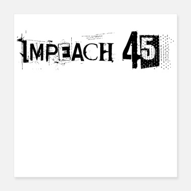 Circus Anti Trump USA President Clown Impeach 45 Gift - Poster 16x16