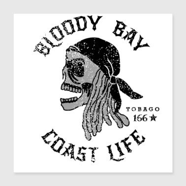 Turn On Bloody Bay - Coast Life - Poster 16x16