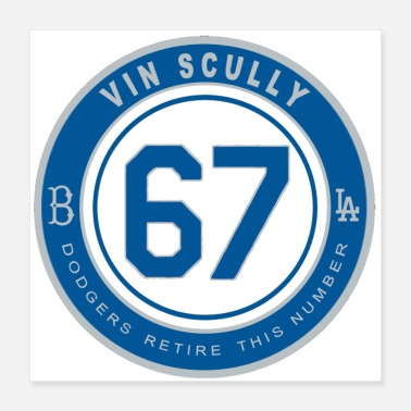 Code Vin Scully - Poster 16x16