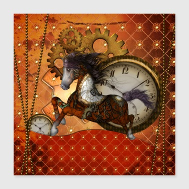 Awesome steampunk horse - Poster 16x16
