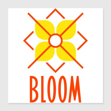 Bloom - Poster 16x16