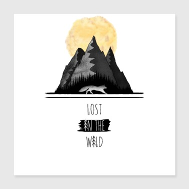 Flora Lost in the Wild - Poster 16x16