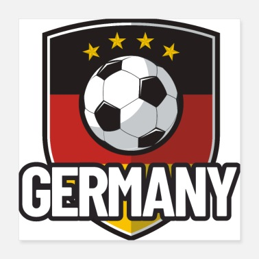 Russia Football Germany - Poster 16x16