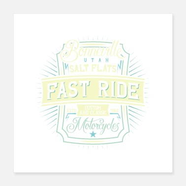 Motorcycle Motorcycle - Poster 16x16