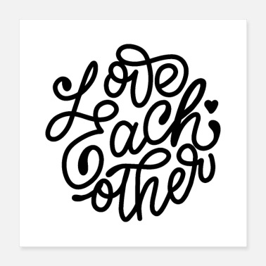 Loves love each other 01 - Poster 16x16