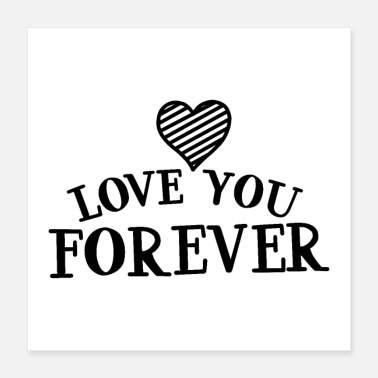 Black Love love you forever 01 - Poster