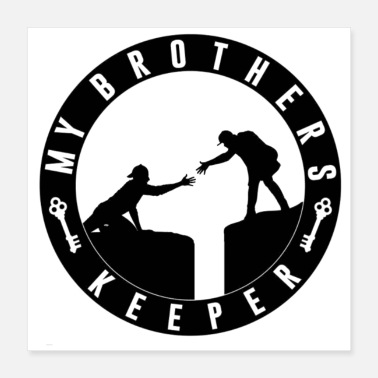 Record My Brothers Keeper Records - Poster 16x16