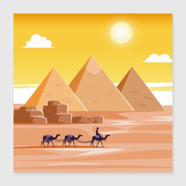 Camel ride - Poster 16x16