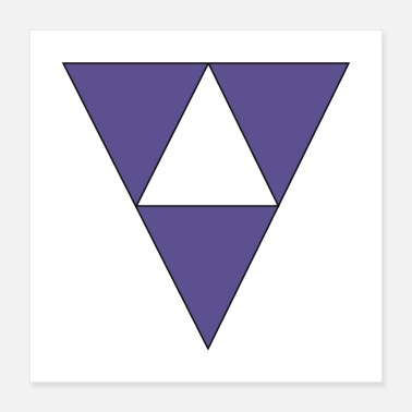 Triangle Triangles - Poster 16x16