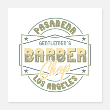 Sir Barber Shop - Poster 16x16