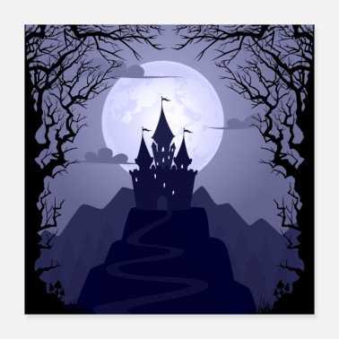 Undead The castle of the dead - Poster 16x16
