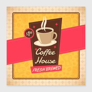 Old Old Coffee House - Poster 16x16