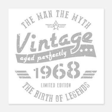 Birthday Greeting Vintage 1968