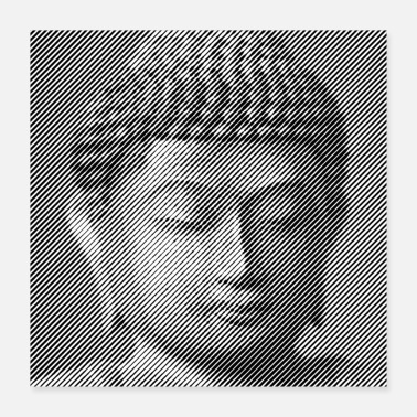 Buddha The Face of Buddha - Poster 16x16