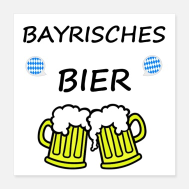 Wheat Beer Bayrisches Bier - Poster