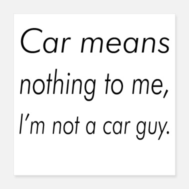 Carneval Car means nothing to me, I'm not a car guy - Poster