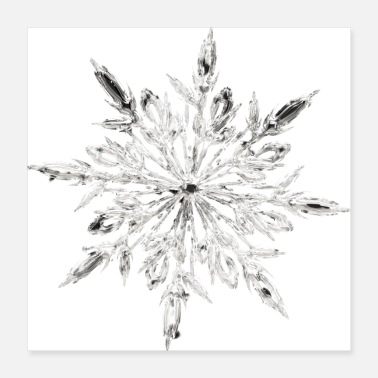 Ice Ice Crystal - Poster 16x16