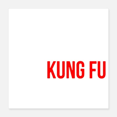 Karate surely not everybody was kung fu fighting origin - Poster 16x16