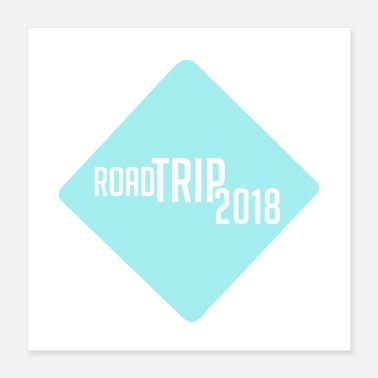 Trip road trip 2018 t shirt family vacation t shirts - Poster 16x16
