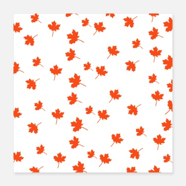 Leaf Autumn Leaf - Poster 16x16