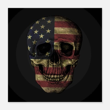 Patriotism Patriotic to the Bone - Poster 16x16