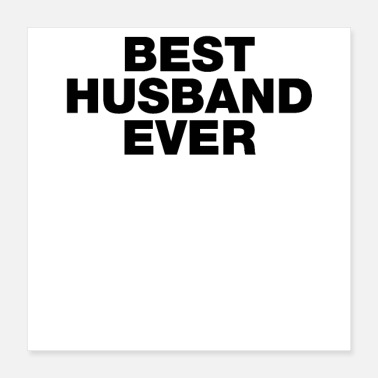 Everlasting Life best husband ever - Poster 16x16
