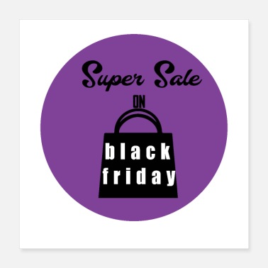 Sale black friday 01 - Poster 16x16