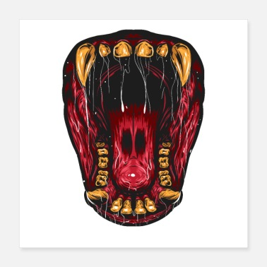 Mouth The Wild mouth - Poster 16x16