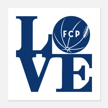 American Football Love FCP - Poster 16x16