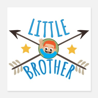 Little Brother Little Brother Waving - Gift Idea - Poster