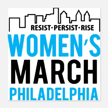 Anti Racism Women s March Philadelphia - Poster