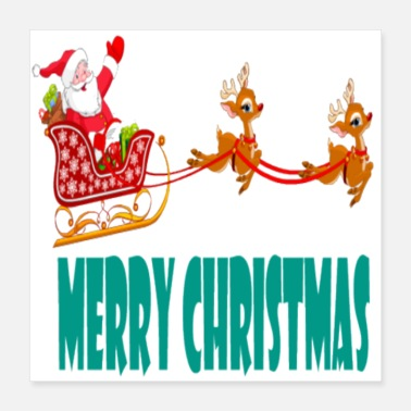 Merry merry christmas - Poster 16x16