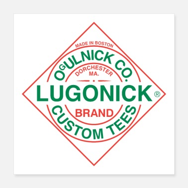 Boston Lugonick Hot Sauce - Poster 16x16