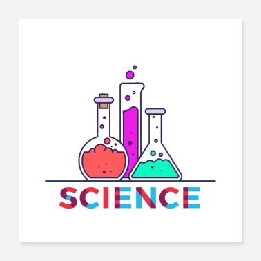 Science Student Science - Poster 16x16