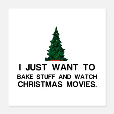 Cook christmas movies - Poster 16x16