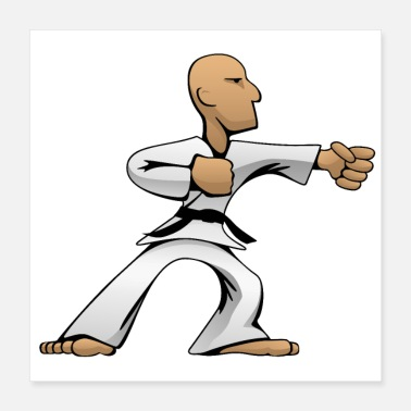 Tae Kwon Do Martial Arts Dude - Poster