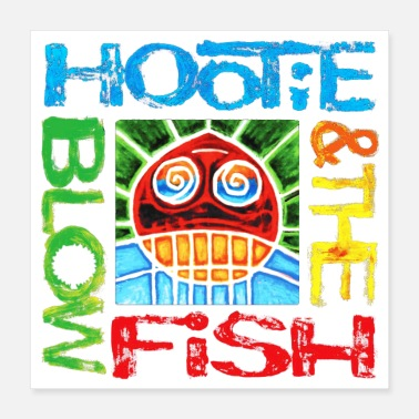 Concert Hootie and the blowfish logo - Poster 16x16