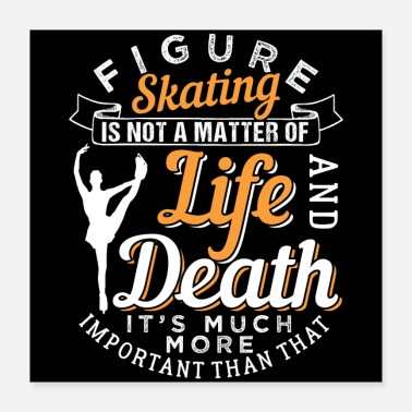 Sports Figure Skating | Winter Sport - Poster 16x16