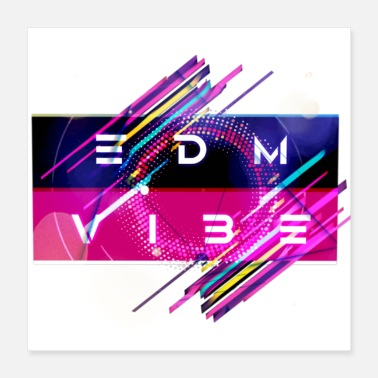 Stage EDM Vibe - Poster 16x16